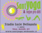 Kurzy jógy pro děti + rodiče ve studiu SantYoga