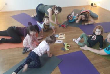 Kurzy jógy pro děti + rodiče